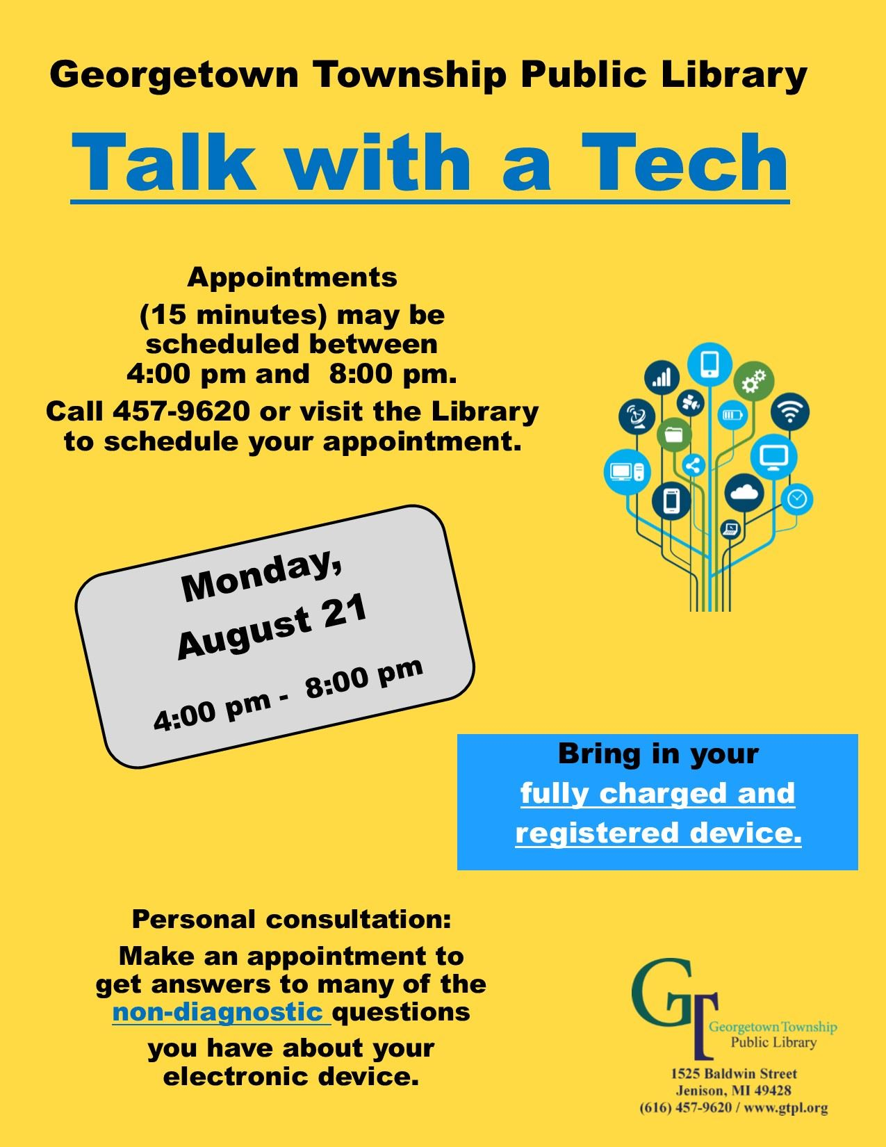 Talk with a Tech August 2017